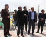 بازدید از فعالیتهای مدیریت شهری در روز تعطیل و حضور در نماز جمعه