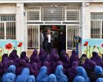 معرفی مشاغل شهرداری در دبیرستان دخترانه شهید موسوی پور