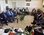 دیدار با فرماندهی جدید ناحیه مقاومت بسیج نجف آباد