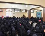 معرفی مشاغل شهرداری در دبیرستان دخترانه امام حسین(ع)