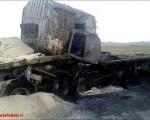 برخورد دو دستگاه تریلر در بزرگراه سردارشهیدحاج احمد کاظمی یک کشته بر جا گذاشت