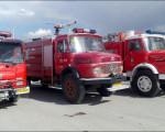 خدمت رسانی آتش نشانی نجف آباد در شهر پل دختر