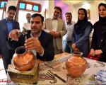 بازدید از نمایشگاه، فروشگاه و ورکشاپ صنایع دستی