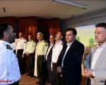 مراسم تکریم و معارفه رئیس پلیس راهور  فرماندهی انتظامی شهرستان نجف آباد