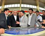 بازدید معاون رییس جمهور از غرفه نجف آباد در نمایشگاه گردشگری