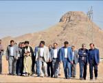 بازدید مسئولین از کشتارگاه صنعتی نجف آباد