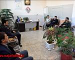 دیدار با فرماندهی ناحیه مقاومت بسیج نجف آباد و بازدید از نمایشگاه