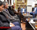 جلسه با معاون آموزشهای عمومی و مهارتی سما واحد نجفآباد