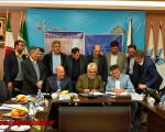 امضای تفاهم نامه احداث دپو و ایستگاه اولیه قطار شهری نجف آباد _ اصفهان