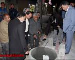 بازدید شامگاهی شهردار نجف آباد