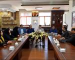 جلسه با دانشکده فنی و حرفه ای سمیه نجف آباد