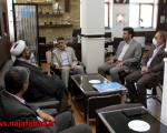 جلسه با امام جمعه منطقه سه (ویلاشهر)