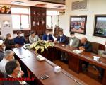 جلسه با هیئت امنای آرامستان یزدانشهر(منطقه4)