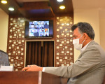 نخستین شورای اداری مجازی شهرستان نجف آباد
