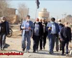 بازدید عمرانی پارلمان و مدیریت شهری نجف آباد