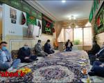 دیدار دبیر شورای فرهنگ عمومی کشور باخانواده شهید حججی