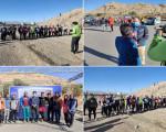 برگزاری اولین دوره مسابقات اسکای رانینگ شهرستان نجف آباد
