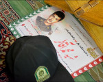 مراسم بزرگداشت شهید محمد آقالر