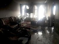 حریق منزل مسکونی و نجات کودک 5ساله توسط آتش نشانان / آتش سوزی خودرو