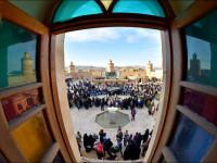 اختتامیه جشنواره بهارانه همراه با نور افشانی و بازدید شهردار