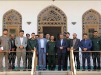 جلسه و بازدید با مجموعه ناحیه مقاومت بسیج نجف آباد