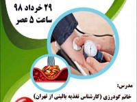 همایش آموزشی دیابت، فشار و چربی خون