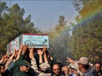 تشییع و خاکسپاری شهید گمنام