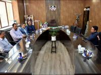 جلسه و بازدید از دانشکده فنی و حرفه ای سمیه نجف آباد
