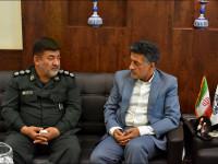 دیدار با فرماندهی لشکر زرهی 8 نجف اشرف