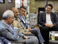 دیدار با سرپرست سازمان همیاری شهرداریهای استان اصفهان