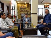 دیدار با مدیر امور آبفا منطقه نجف آباد