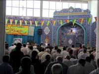 برپایی میزخدمت در نماز جمعه منطقه 4 / بمناسبت هفته دولت