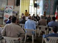 برپایی میزخدمت در نماز جمعه منطقه سه / بمناسبت هفته دولت