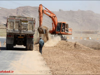 تحقق یکی ازخواسته های مردم ویلاشهر با احداث بلوار شهید باهنر
