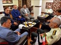 جلسه با فرماندهی نیروی انتظامی نجف آباد