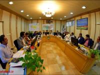 ارایه گزارش تفریغ بودجه و بیلان 97 در پارلمان شهر