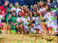 پیام تبریک قهرمانی فوتبال ساحلی
