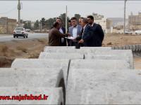 بازدید شهردار از روند احداث بلوار باهنر