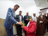 کلیپ  بازگشایی وشروع به کار ساختمان اداری شهرداری منطقه4