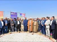 آیین کلنگ زنی پروژه مشارکتی زیرگذر شهرکهای صنعتی منتظریه، کاوه و ویلاشهر