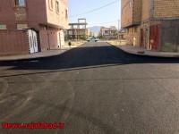 روکش آسفالت در فاز هفت شهرک امام علی