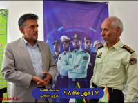 پیام تبریک شهردار نجف آباد به مناسبت روز نیروی انتظامی