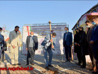 کلنگ زنی و آغاز عملیات احداث پیست قایقرانی نجف آباد