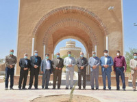 بازدید عمرانی مسئولین شهری نجف آباد