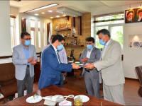 معارفه سرپرست جدید معاونت خدمات شهری شهرداری نجف آباد