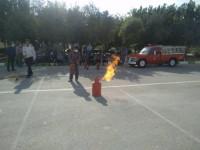 برگزاری کلاس آموزش اطفاء حریق جهت پرسنل