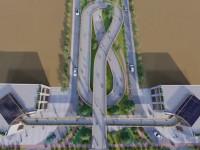 انیمیشن پل زندگی / نمایی از پل در حال ساخت