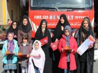 مراسم اهداء جوائز به برندگان مسابقه داستان نویسی و جدول نشریه فرشتگان نجات (شماره ۳)برگزارشد