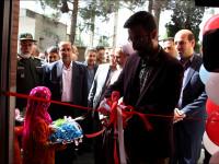 آیین افتتاح دو پروژه ورزشی  و مسابقات اسکیت آزاد کشور در شهرستان نجف آباد