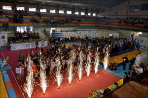 مسابقات ووشو قهرمانی کشور در نجف آباد آغاز شد + فیلم